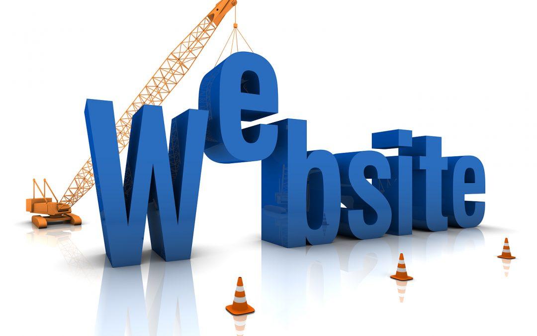 New Website Being Developed