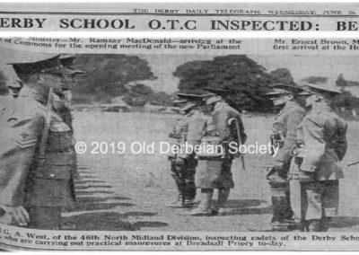1929 jun26 Derby School OTC Inspected page3