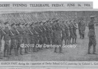 1933 jun16 Derby School OTC Inspection p7