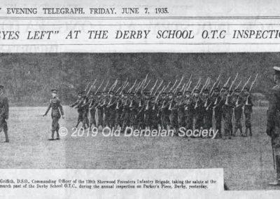 1935 jun07 Derby School OTC Inspection page6
