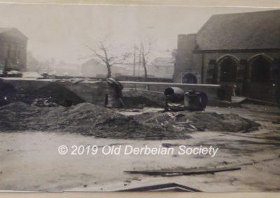 1940 - Constructing air-raid shelters