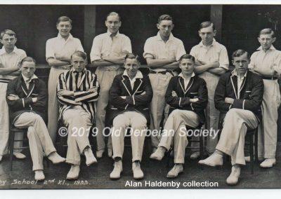 Alan Haldenby - 2nd XI 1933