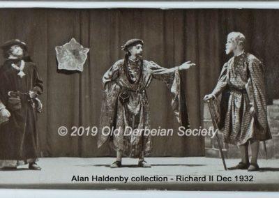 Alan Haldenby - Richard II Dec 1932 005