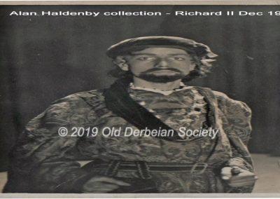 Alan Haldenby - Richard II Dec 1932 008