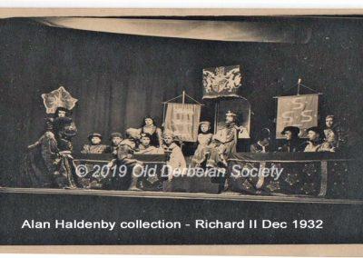 Alan Haldenby - Richard II Dec 1932 009