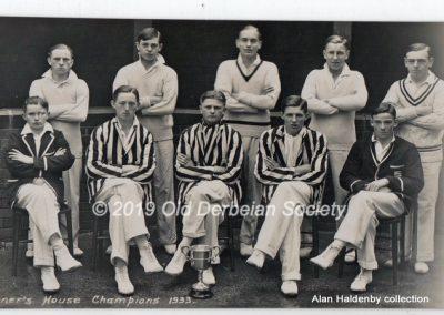 Alan Haldenby -Tanner's Champions 1933