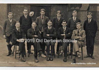 Alan Haldenby Tanner's Football XI 1926-27