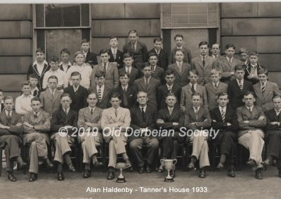 Alan Haldenby -Tanner's House 1933