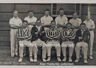 Alan Haldenby -Tanner's XI 1934
