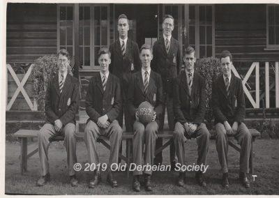 Alan Lockyer - Basketball Team 1951-1952