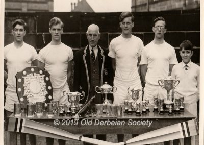 Alan Lockyer - School First IV Crew 1953