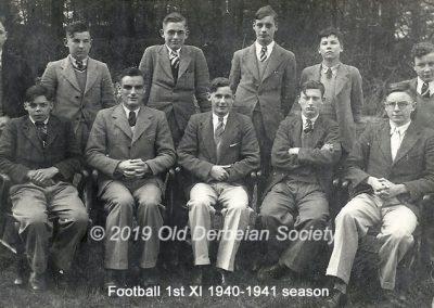 Amber Valley 1st XI Football 1940-41