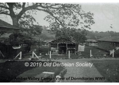 Amber Valley Camp - view of dormitories WWII