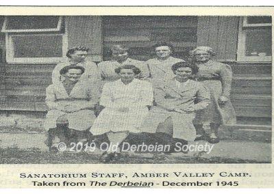 Amber Valley Sanatorium Staff