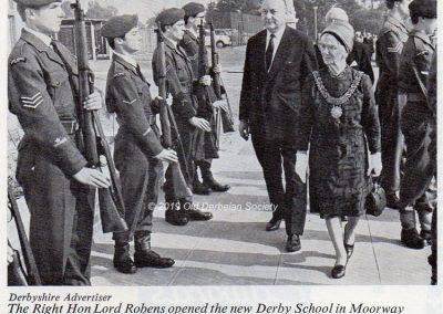 Andrew Polkey - 1966 Opening of Derby School at Moorway Lane site