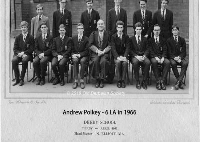 Andrew Polkey - 6LA in 1966