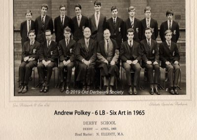 Andrew Polkey - 6LB 1965 - Six Art