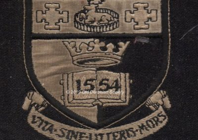 Andrew Polkey - Blazor badge from Oct 1964 onwards_