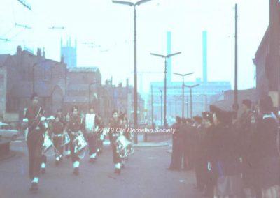 Andrew Polkey - Drum Major CCF Centenary 1962