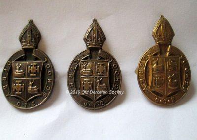 Andrew Polkey - OTC, JTC and CCF cap badges