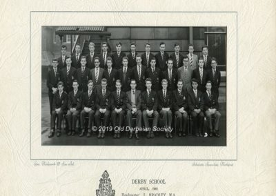 Andrew Walton - Form U6 - April 1961
