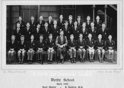 Barry Chambers - Fourth Form April 1955