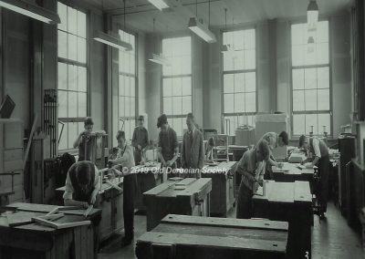 Bird - Woodwork Classroom 1960's