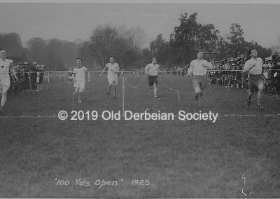 Brown - 100 yards Open 1923