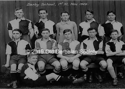 Brown - 1st XI 1922 Football