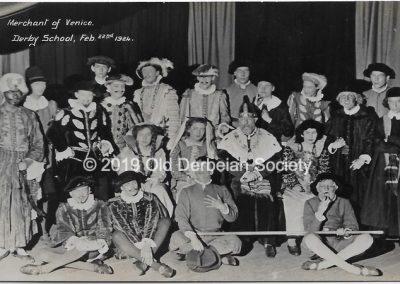 Brown - Cast in Merchant of Vencie 1924