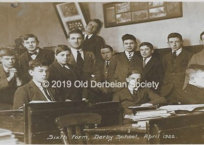 Brown - Sixth Form April 1922