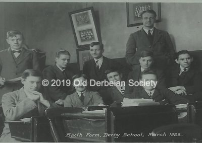 Brown - Sixth Form March 1923