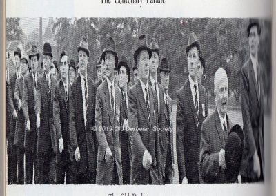 Cadet Corps Centenary 1962 OD's parading