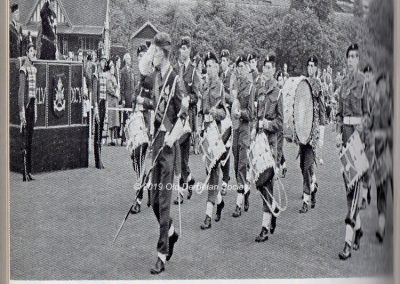 Cadet Corps Centenary Band 1962