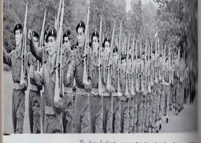 Cadet Corps Centenary Parade Army Section 1962