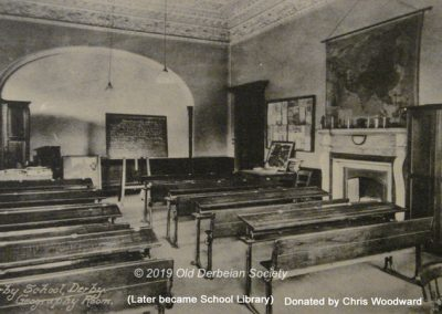 Chris Woodward St. Helen's House Geography Room