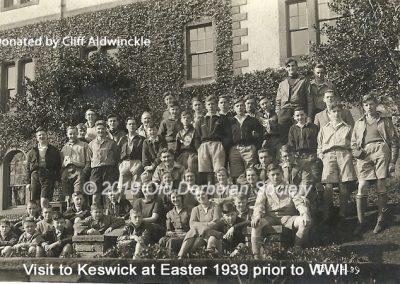Cliff Aldwinckle - Keswick Easter 1939