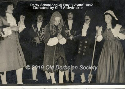 Cliff Aldwinckle - School Play L'Avare 1942