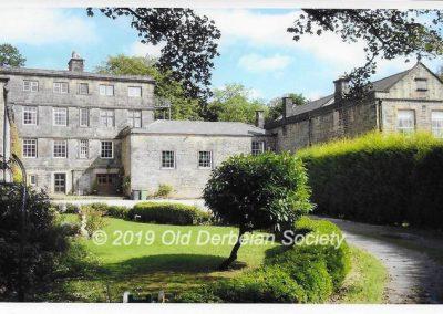 Cliff Aldwinkle - Overton Hall home of Derby School in Sept 1939