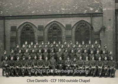 Clive Daniells - CCF 1950