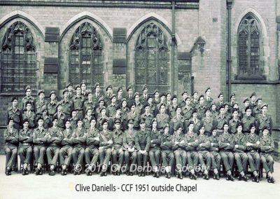 Clive Daniells - CCF 1951
