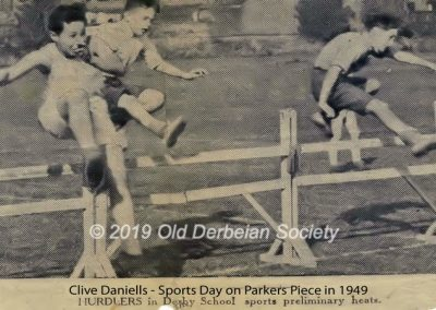 Clive Daniells - Sports Day 1949