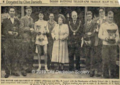 Clive Daniells - Sports Day 1950
