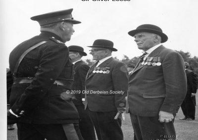 David Oldfield - 1962 CCF parade Lt General Sir Oliver Leese