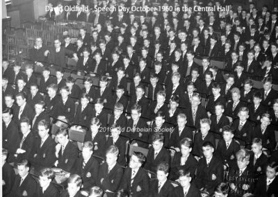 David Oldfield - Speech Day Oct 1960