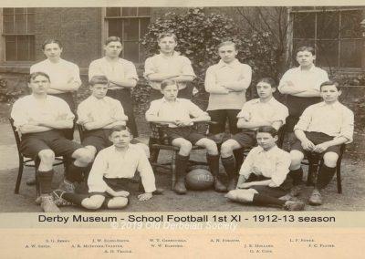 Derby Museum - 1st XI 1912-13 season