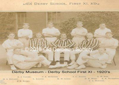 Derby Museum - 1st team - 1920's