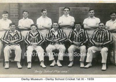 Derby Museum - Cricket 1st XI 1939