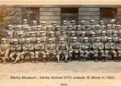 Derby Museum - OTC 1903 outside B Block