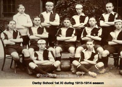 Derby School 1st XI 1913-14 season